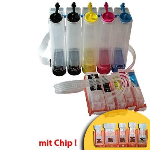 CISS Dauerdrucksystem CKiP4600 + 1000ml-Tinten