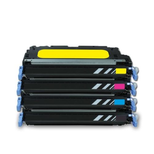 Toner-Sparset: CL711B + 3 x CL717, Rebuild für Canon-Drucker