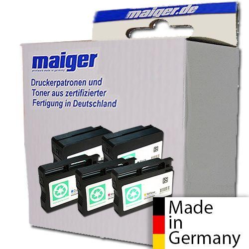Maiger.de Premium-Combipack (2x schwarz), ersetzt HP Nr. 950 + 9