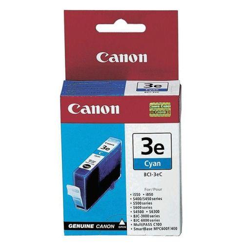 Original Canon Tintenpatrone Cyan Nr. 3, BCI-3eC