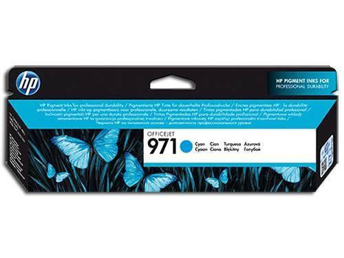 Original HP Tintenpatrone Cyan Nr. 971, CN622AE