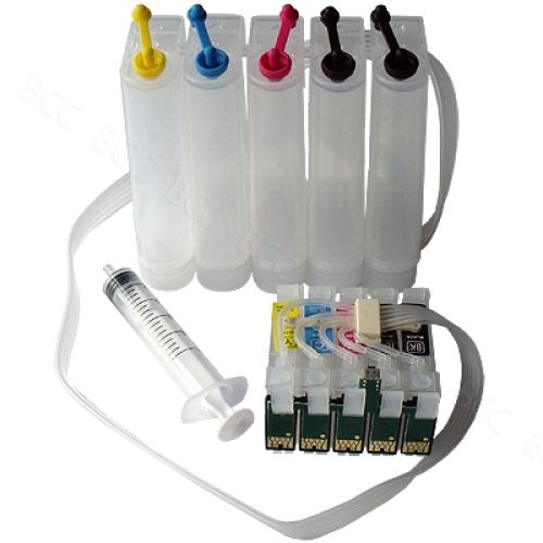 CISS Dauerdrucksystem EKD120 + 100ml-Tinten