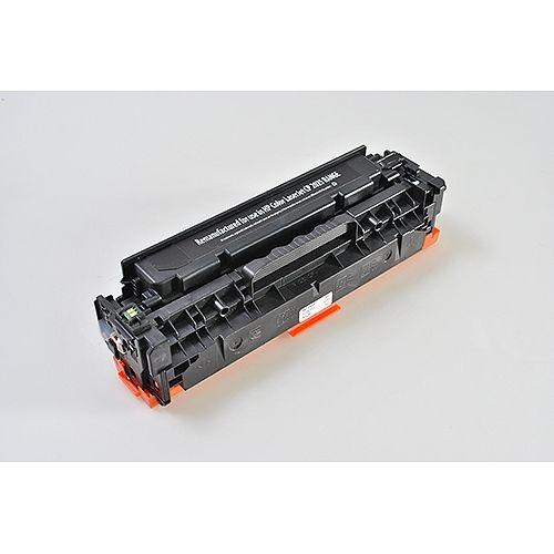 Peach Toner PT138 Schwarz, kompatibel zu HP CC530A