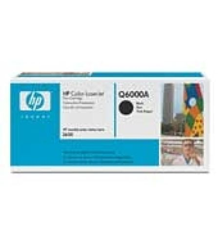 Toner Original HP Q6000A, 2500 Seiten, schwarz