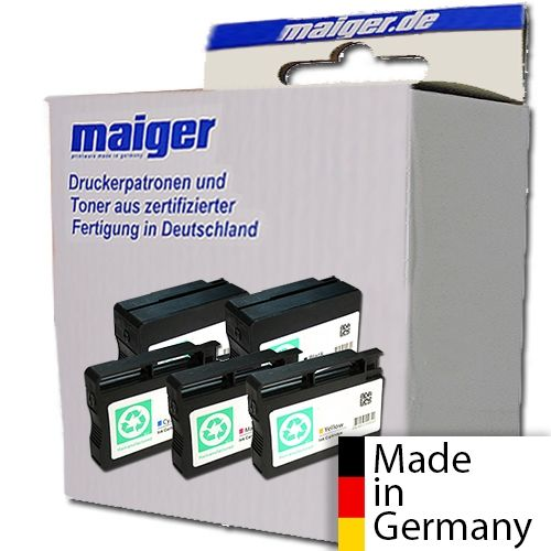 Maiger.de Premium-Combipack (2x schwarz), ersetzt HP Nr. 932 + 9