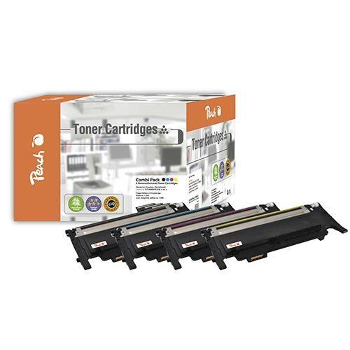Peach MultiPack PT311, kompatibel zu Samsung CLT-K4092S/ELS Seri