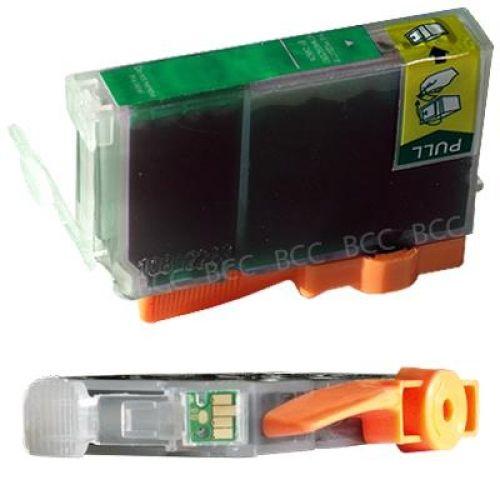 * Druckpatrone grün mit Chip, kompatibel, Art CK8G -Chip